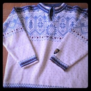 Dale of Norway Wool Sweater Size Large